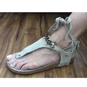 Ankle Wrap Sandals Size 37